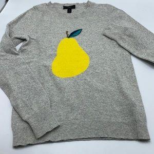 J. Crew Wool blend Pear Sweater